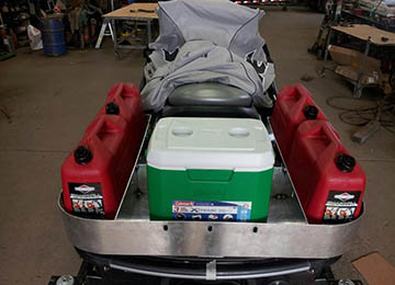 more jetski extra gas cans and cooler mods